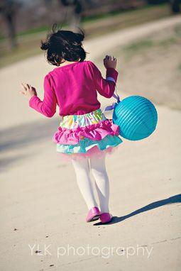 Custom Made Girls Ruffle Bloomers Diaper Covers Shorts