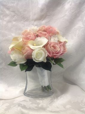 Custom Made Silk Floral Replica Wedding Bouquet