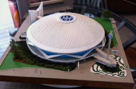 Custom Made General Electric Pavilion Scale Model