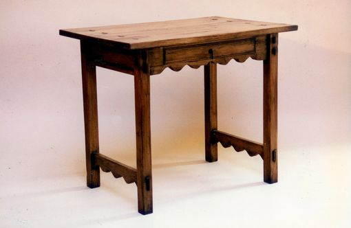 "Custom Made ""Los Gatos Canyon"" - Native Pine Occasional Table"