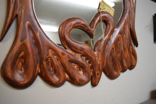 Custom Made Twisted Plywood Mirror