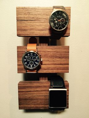 Custom Made Walnut Watch Display