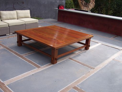 Custom Made Outdoor Coffee Table