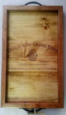 Custom Made Domaine Du Grand Tinel Serving Tray