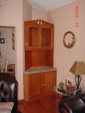 Custom Made Wet Bar Cabinet