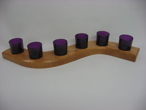 "Custom Made ""Journey"" Candle Holder For Votive Candles"