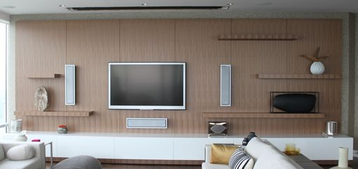 Custom Made Braun Wall Unit