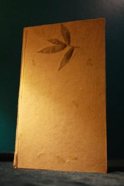 Custom Made Journal With Embedded Plant Cover