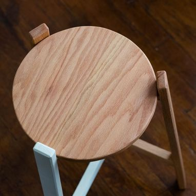Custom Made Discus End Table