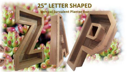 Buy A Handmade Vertical Succulent Planter Box Large 25