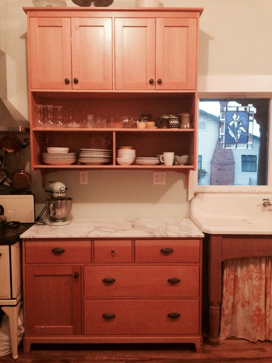 Hand Crafted Mod Victorian Kitchen Cabinetry by Modwoodshop ...