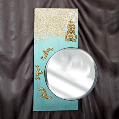 Custom Made Turquoise Miror