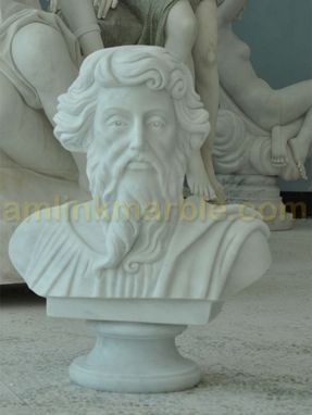 Custom Made Marble Bust Of St Paul Statue