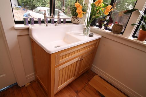 Custom Made Retro Sink Cabinet