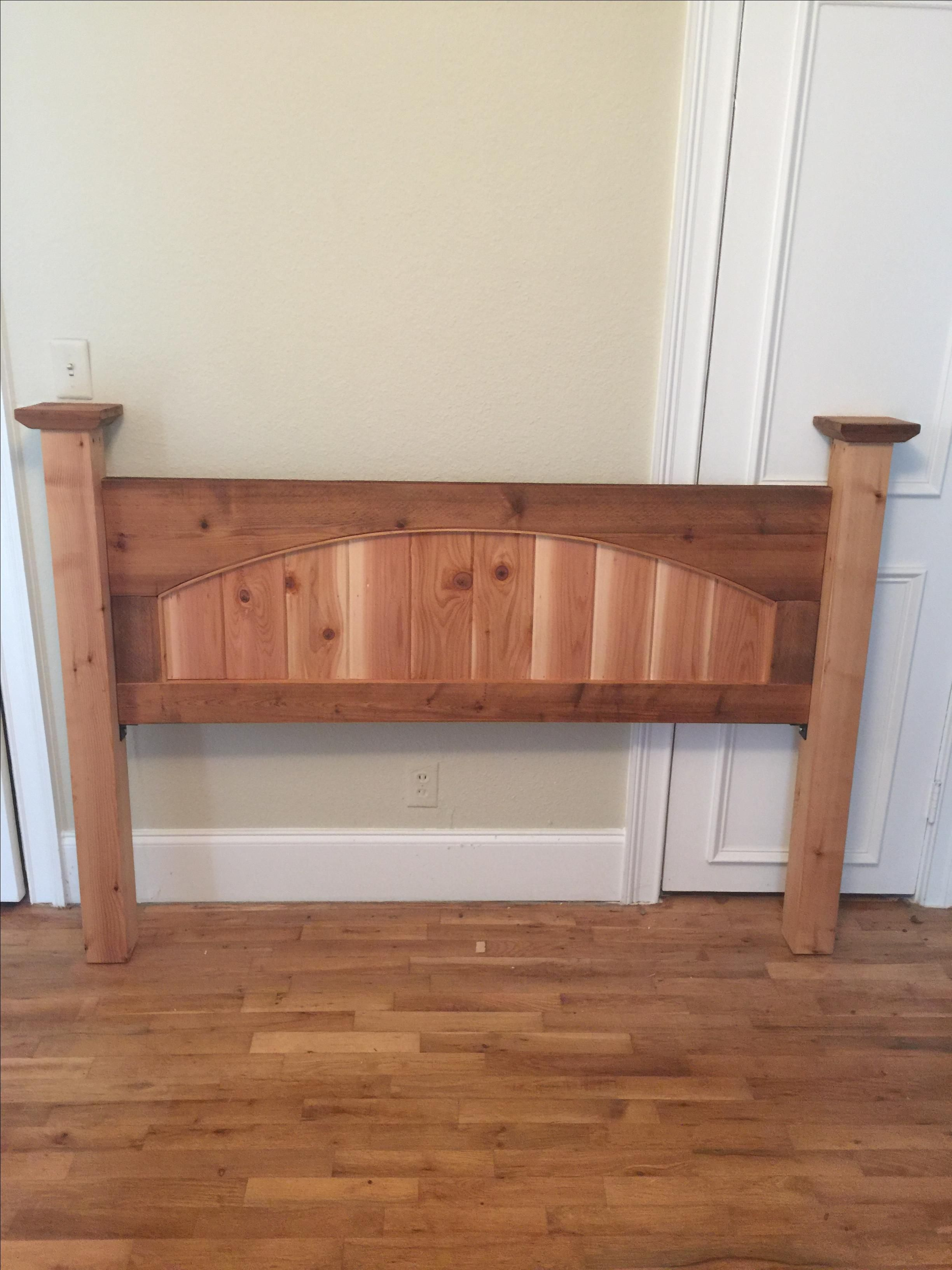 Buy A Hand Made Cedar Headboard Made To Order From Cross