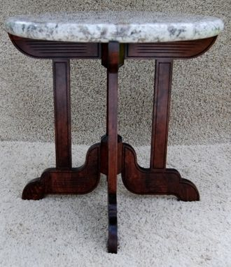 Custom Made Marble Top Table