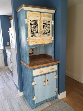 Custom Made Sunburst Hutch