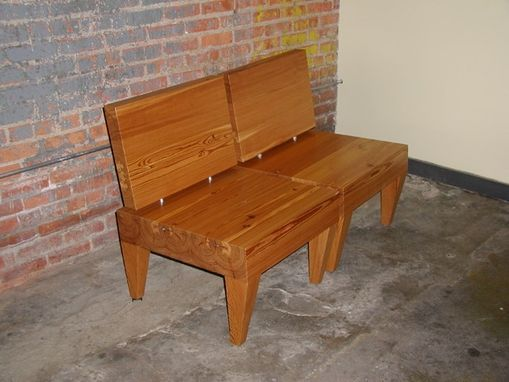 Custom Made Block & Slab Chair #2