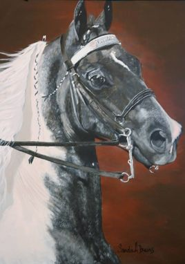 Custom Made Commissioned Painting - Horse, Equine