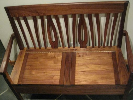 Custom Made Entry-Way Bench