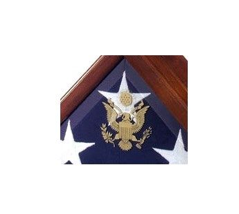 Custom Made Flag Case For Flag That Cover Casket In Military Funeral