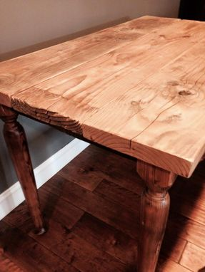 Custom Made Reclaimed Wood Farmhouse Table