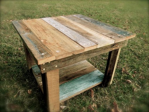 Custom Made Barnwood Coffee Table (Kennedy Collection)