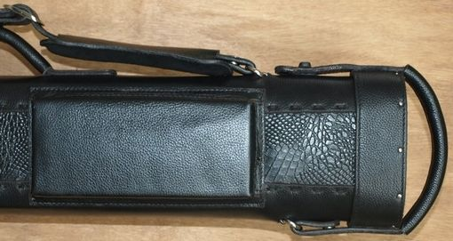 Custom Made Shadows Leather Poolstick Case