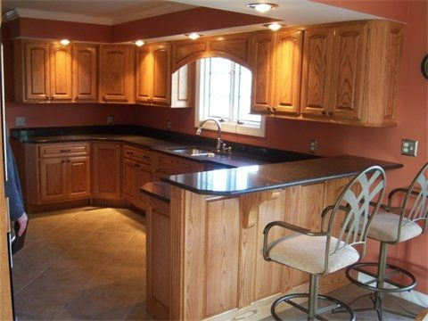 Custom Made Natural Kitchen