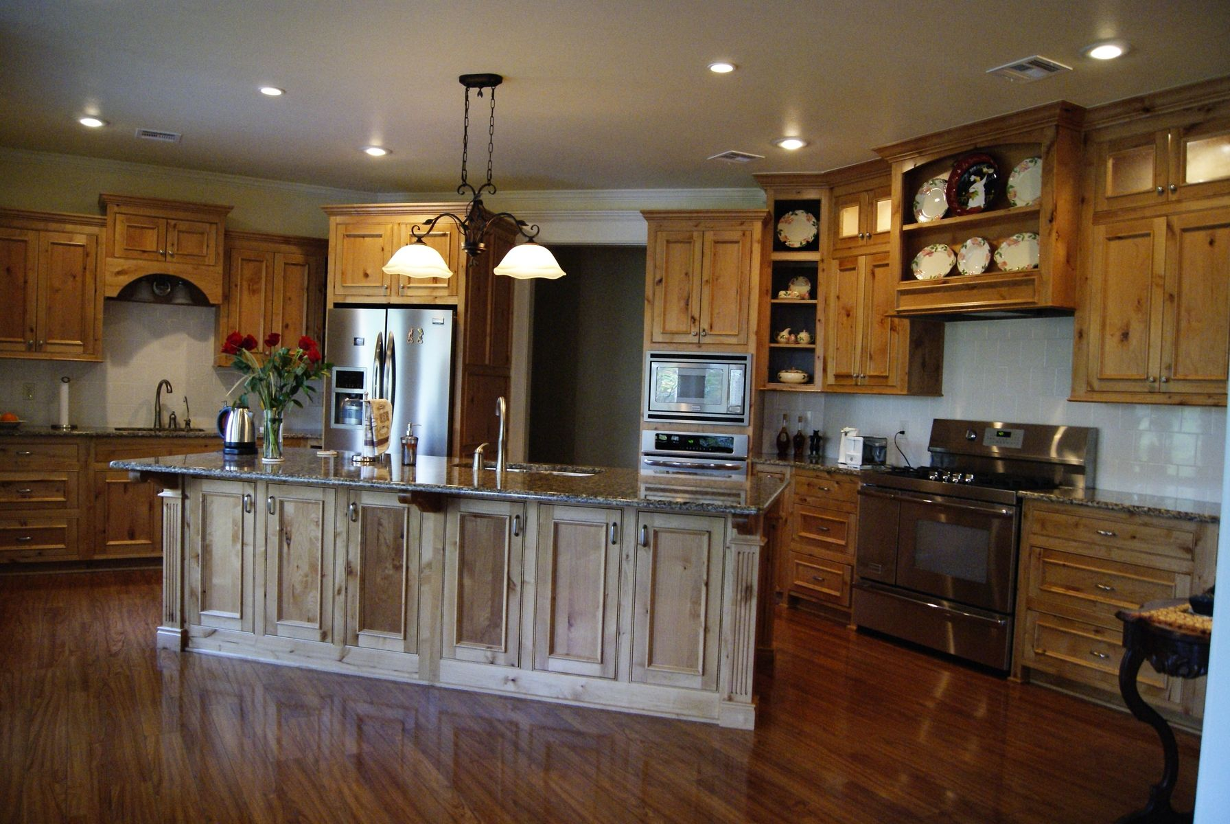 Hand Made Classic Country Kitchen by Grayson Artistry In Wood ...