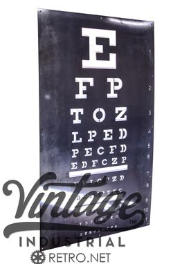 Custom Made The Eye Chart