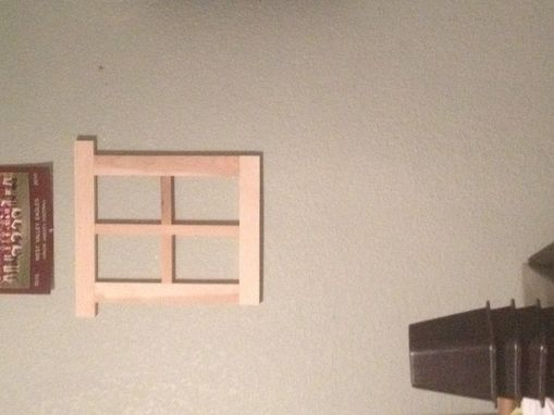 Custom Made Window Like Picture Frame
