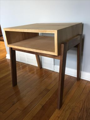 Custom Made Mid Century Inspired End Table