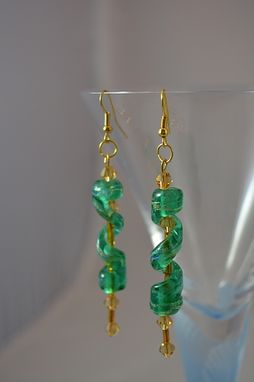 Custom Made Sea Spiral Earrings