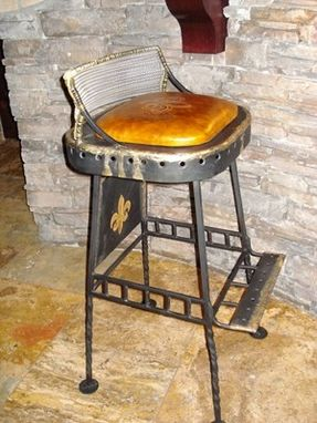 Custom Made Metal Stool