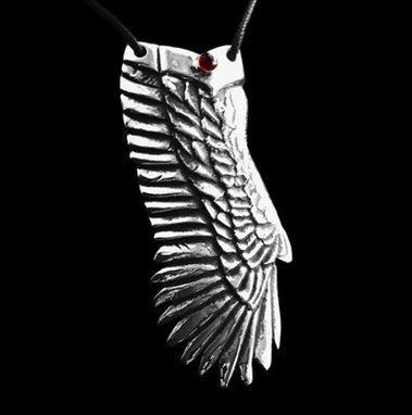 Custom Made Eagle Wing Pendant