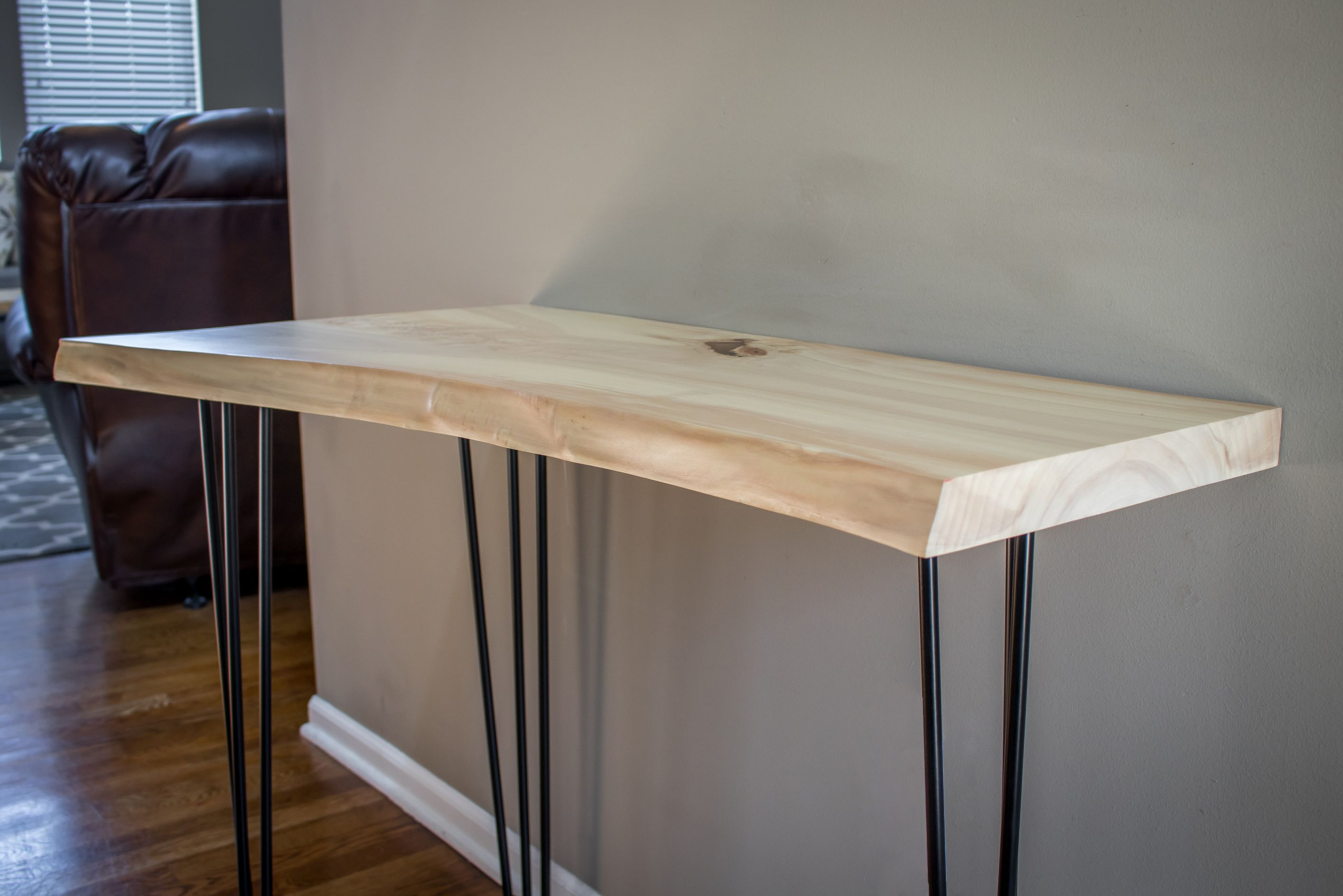 Buy A Handmade Live Edge Sofa Table Console Table Made To