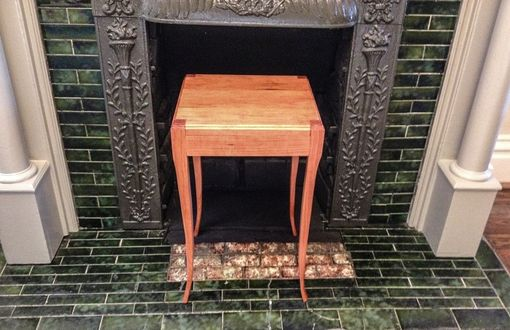 Custom Made Cherry End Tables Transitional