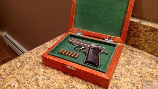 Custom Made Wood Gun Case/Display