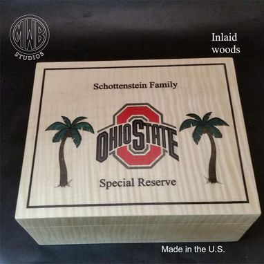 Custom Made Handcrafted Humidor's Made In The U.S.   Hd50