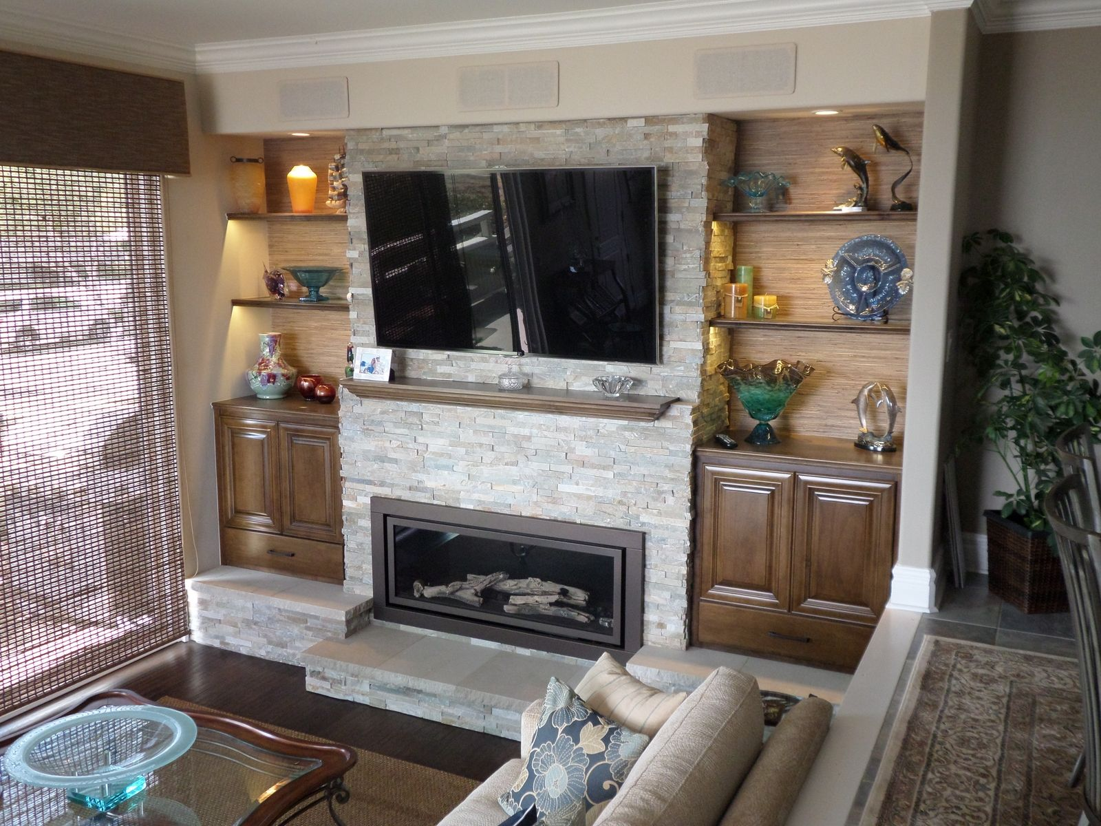 hand crafted fireplace bookshelves by lam woodworks custommade com