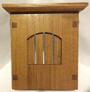 Custom Made Craftsman Style Doorbell Chime Cover (Pine)
