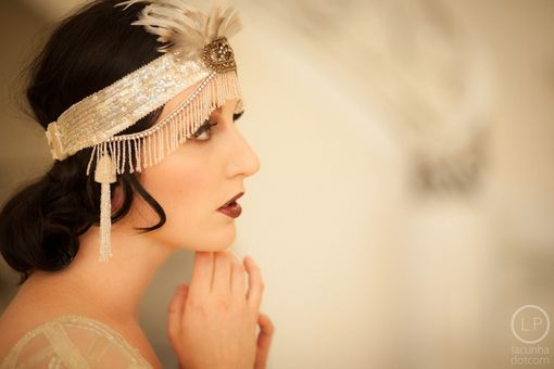 Custom Made Gatsby Style Headpieces