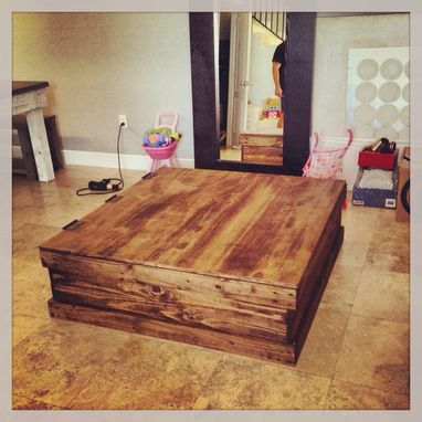 Custom Made Truck Coffee Table / Storage Trunk