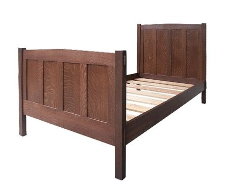 Custom Made Stickley Panel Bed