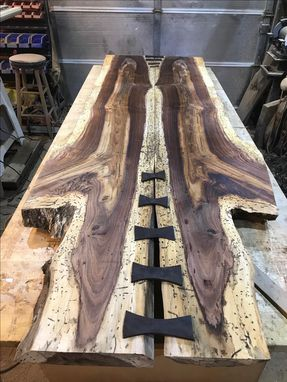 Custom Made Live Edge Tables Hand Crafted.