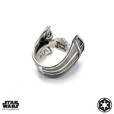 Custom Made Tie Fighter Ring - Precious Metals