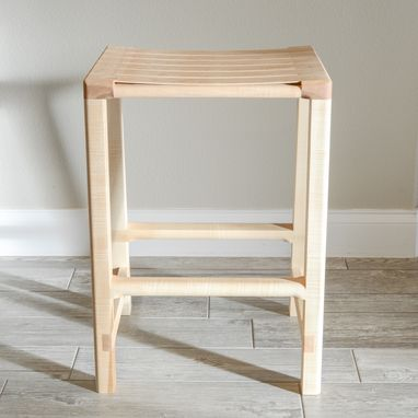 Custom Made Modern Contemporary Stool | Barstool | Mid Century Counter Stool | Scandinavian | Seating Chair
