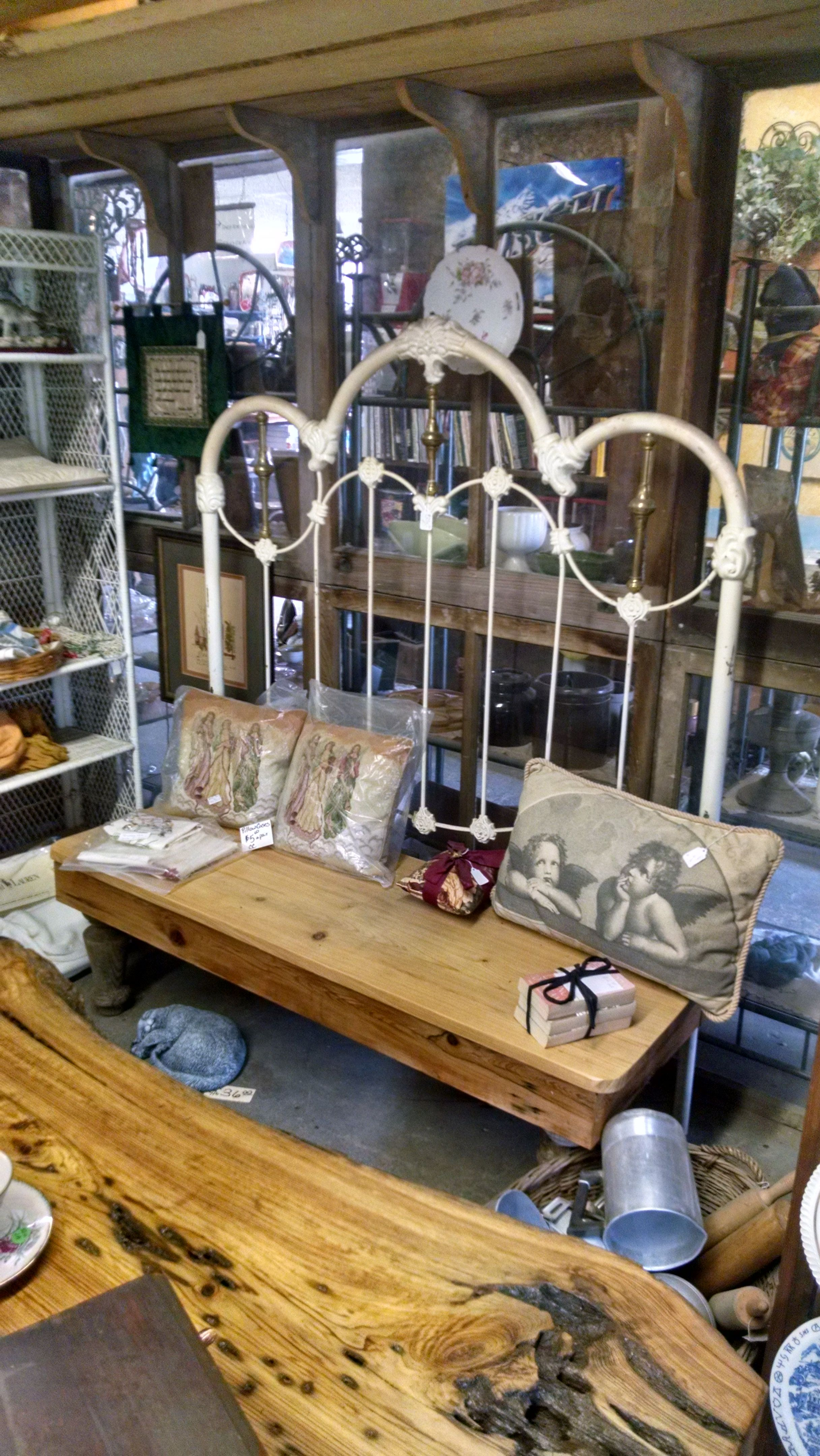 Buy A Hand Crafted Brass Iron Foundry Headboard Bench Wide Board