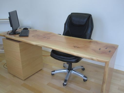Custom Made Live Edge Desk